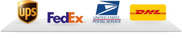 UPS, FedEx, USPS, DHL