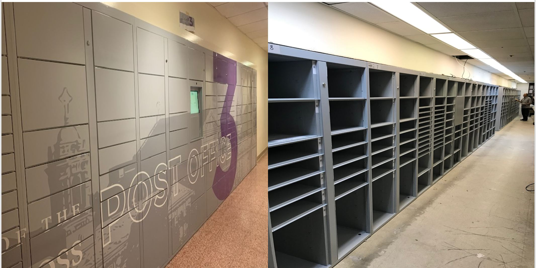 Package locker design options